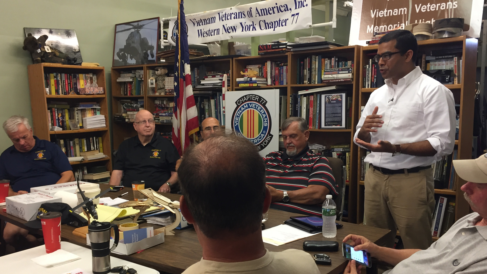 Majority of older local Vietnam veterans have grown stronge
