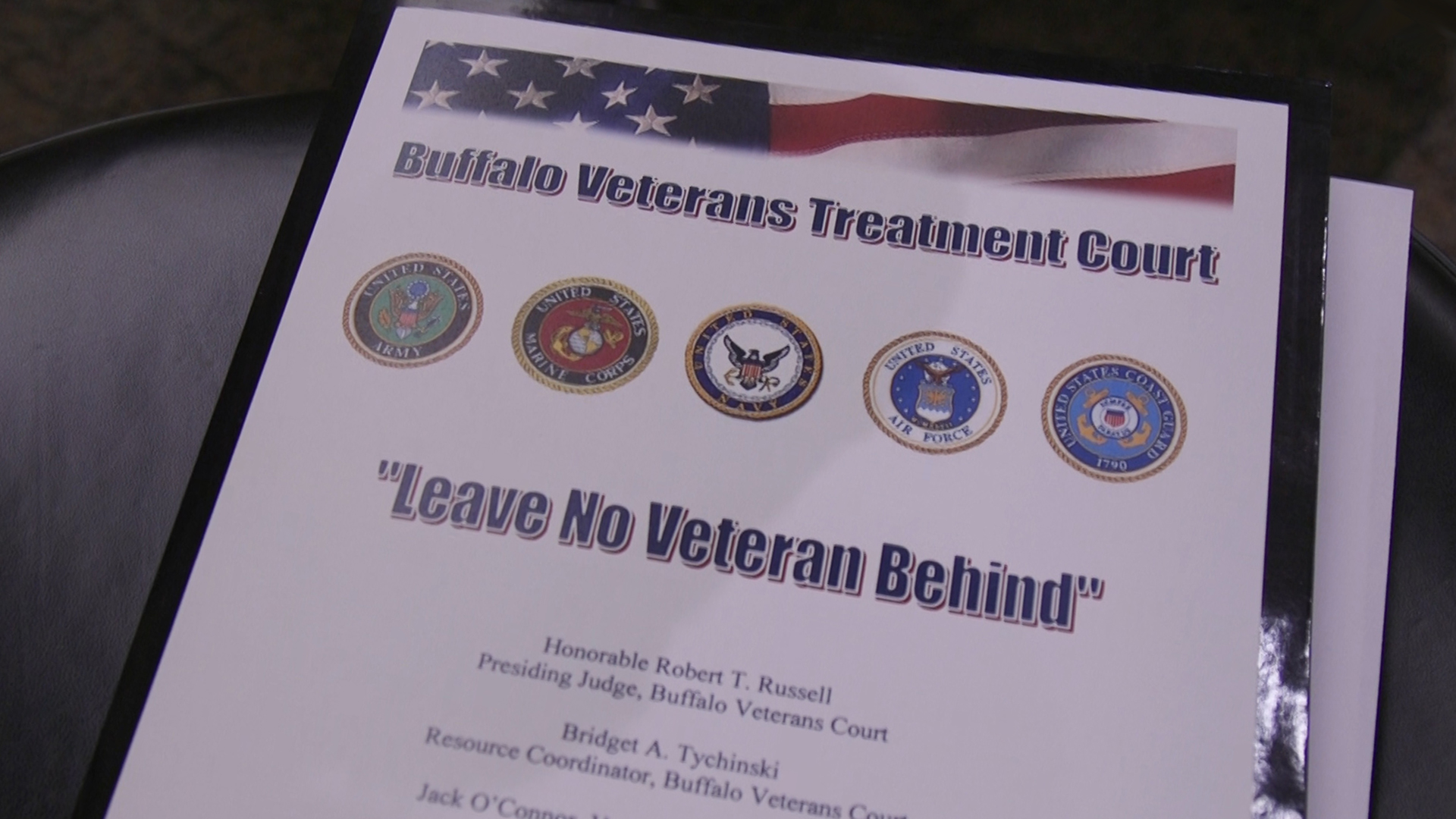 In specialized treatment court, no veteran is left behind