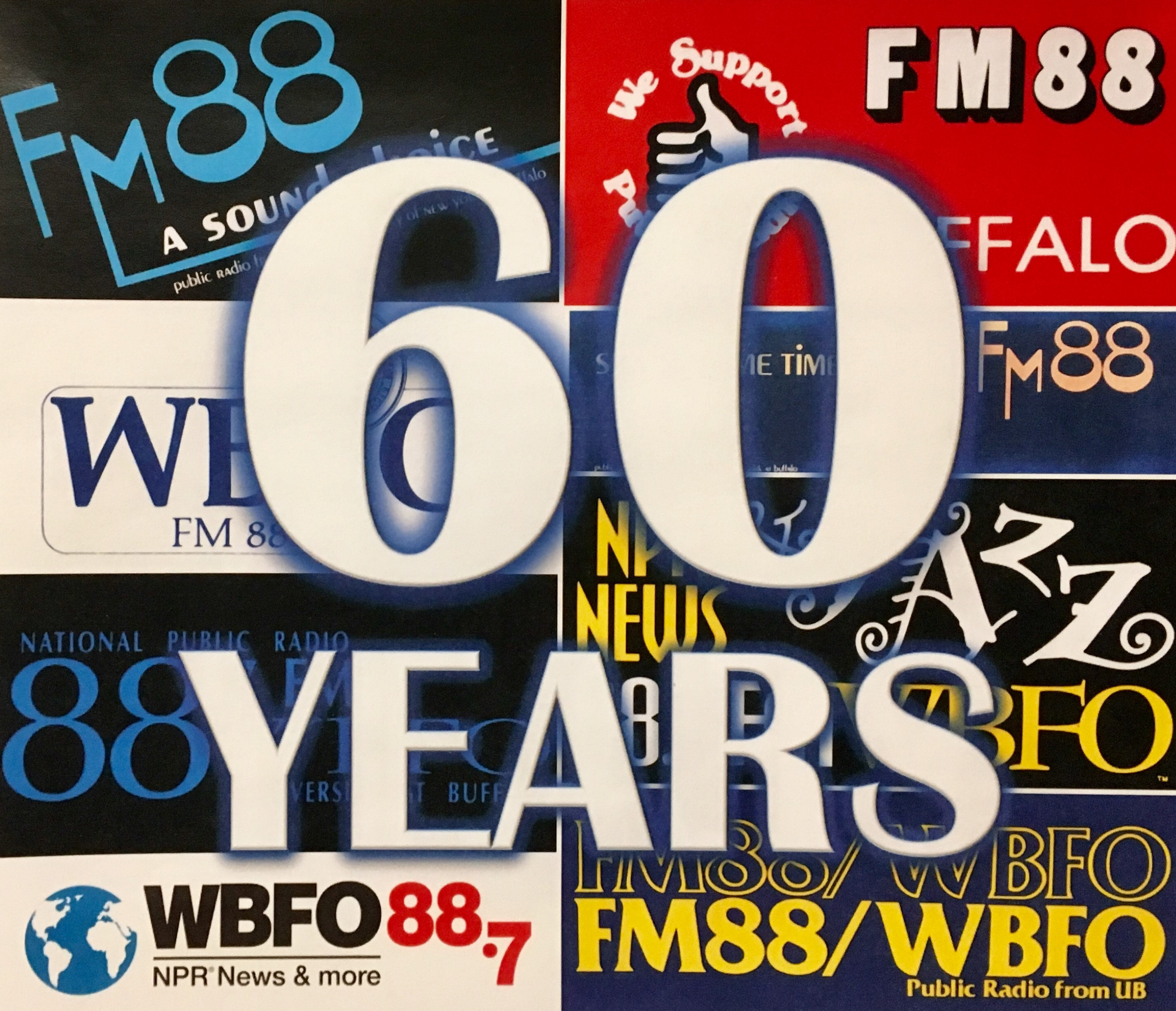 WBFO celebrates 60 years of broadcasting in WNY