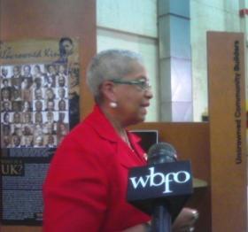 Buffalo School board president Barbara Seals-Nevergold.