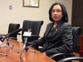 Superintendent Pamela Brown responded to Judy Elliott's assessment report Thursday at City Hall
