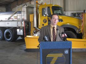 DOT Director Darrell Kaminski says now is the time to prepare for winter driving.