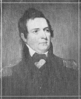 Peter Buell Porter of Black Rock and Niagara Falls. US military hero and future secretary of war in the cabinet of President John Quincy Adams in 1828