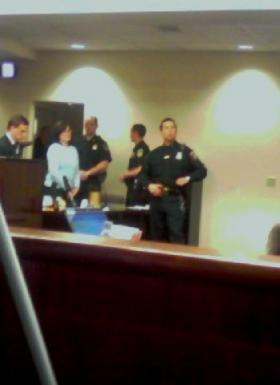 Cara Dickey sentenced in Erie County Court in 2009