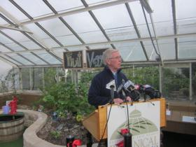 David Swarts, president & CEO of Botanical Gardens