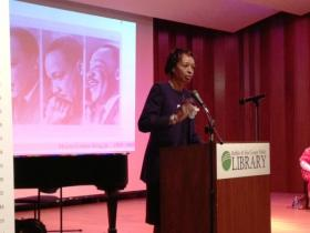 City of Buffalo Deputy Mayor Ellen Grant shared her story of discrimination as a young woman in the south