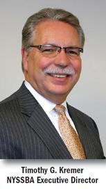 NYSSBA Executive Director Timothy Kremer