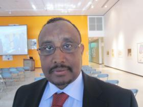 Abdiweli Ali, former prime minister of Somalia, is an associate professor economics at Niagara University