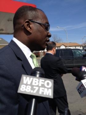 Buffalo Mayor Byron Brown