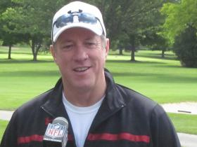 Jim Kelly spoke to reporters in Batavia Monday about his cancer diagnosis.