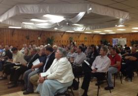 Lockport residents gather to hear the EPA's cleanup plans for Eighteenmile Creek