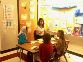 Elisa Whitty student teaching