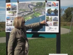 "Chairperson Joanne Kahn says the new park would ""lift up the region's public image."""