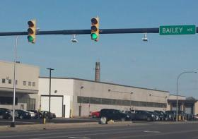 License plate readers have been installed at the intersection of Broadway and Bailey Avenue.
