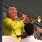 Doc Severinsen performs in 2007.