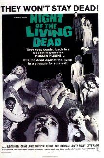 Night of the Living dead, 1968 movie about zombies.