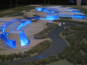 A model of the RiverBend project
