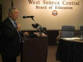 West Seneca Superintendent Mark Crawford