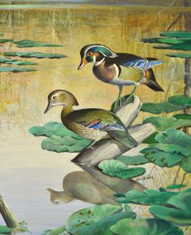 Bob Hines is remembered as one of the great wildlife artists and illustrators of the 20th century.