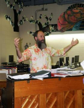 Westfield Academy Secondary Music Teacher Kent Knappenberger named Grammy Music Educator of the Year 2014.