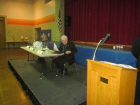 Immigration was the focus of a Tuesday panel discussion at Catholic Academy of West Buffalo.