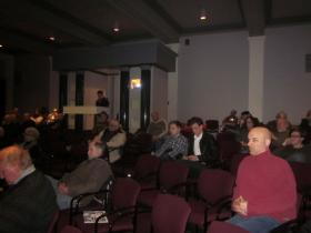Interested residents went to the Buffalo History Museum Tuesday night to hear about new development on Elmwood Avenue.