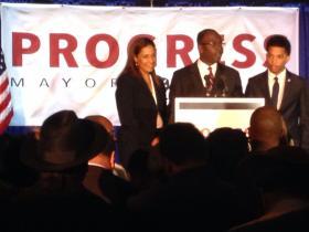 Mayor's 2013 reelection win.