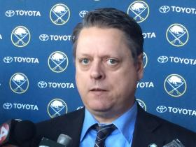 Tim Murray is the new general manager of the Buffalo Sabres