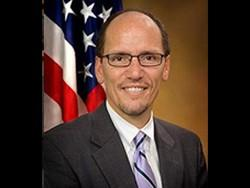 U.S. Department of Labor Secretary & Buffalo native Thomas Perez.