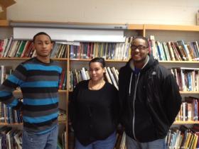 Wilfredo Rosario Jr, Mariliz Rodriguez & Brandon Wilson.
