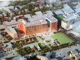 A rendering of the new UB Medical School in downtown Buffalo