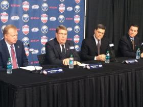 Officials from USA Hockey and the Buffalo Sabres made the Prospects Game announcement Tuesday.