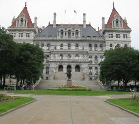 The State Capitol in Albany