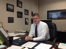 Sweet Home Schools Superintendent Anthony Day.