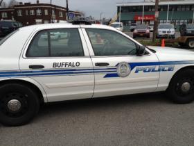 Buffalo Police car.