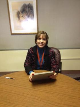 Amherst Central Schools Superintendent Laura Chabe