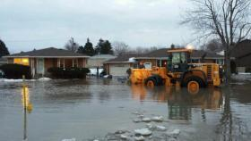 West Seneca flooding in Lexington neighborhood.