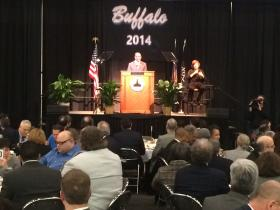 Buffalo Mayor Byron Brown delivers 9th annual State of the City Speech Friday afternoon.