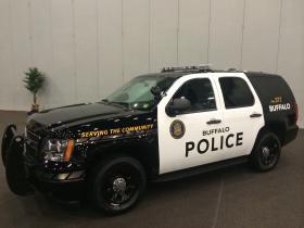 New city of Buffalo Cop cars