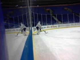Sabres goalie Ryan Miller.