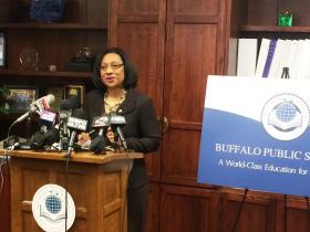 Buffalo Schools Superintendent Pamela Brown.