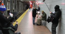 "After searching the Northeast for an accommodating subway station, producer Roland Uruci and his crew chose Buffalo to film their next feature, ""Subway Station."""