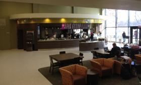 Argo Tea cafe opened in the Butler Library at SUNY Buffalo State.