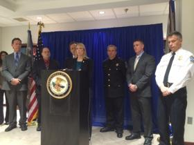 Officials announced the charges at a news conference Wednesday at the U.S. Attorney's Office.