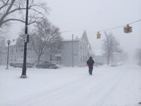 The view down Breckenridge Ave. near 17th St. in Buffalo
