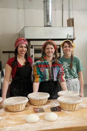 "The three owners of Breadhive, one of Buffalo Spree's ""new do-gooders"""