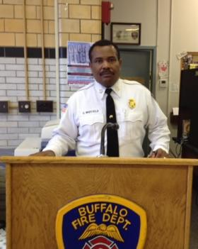 Buffalo Fire Department Commissioner Garnell Whitfield.