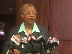 Mary Guinn says she is aware of the controversy surrounding her hiring.