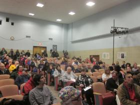 A large crowd came out Tuesday night to hear about issues related to Tonawanda Coke.