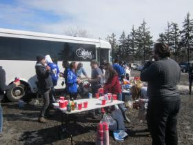 A special tailgate party paid honor to Ralph Wilson, the late owner of the Buffalo Bills.